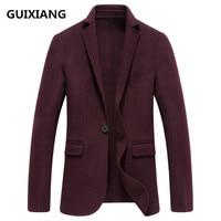 2018 spring new style coats Men's fashion double faced woolen suits jacket Men's casual Men's woolen business blazers man