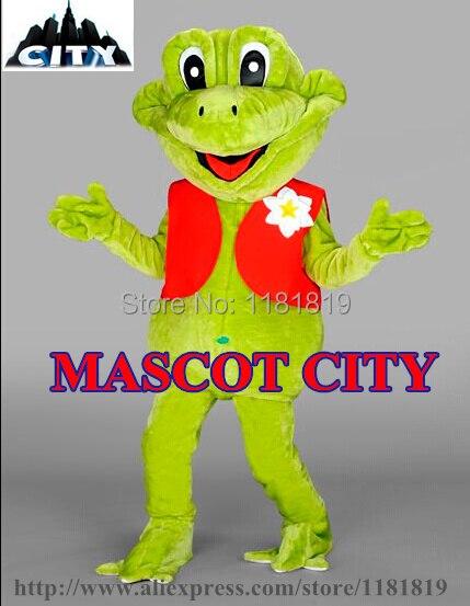 MASCOT Girl Frog Mascot Costume Adult Size Good Quality Low Cost Jungle Frog Carnival Costume Fancy Dress FREE SHIP MC71337