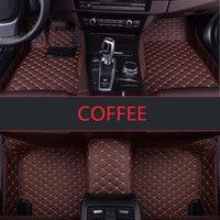 Custom fit car floor mats for Chevrolet Cruze Malibu Sonic Trax Sail captiva epica 3D car styling carpet floor liner