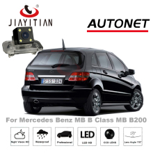 JiaYiTian Câmara de Visão Traseira Para MB Mercedes Benz B Class W245 B180 B200 B170 160/Estacionamento Câmera/Noite visão/Câmera Placa De Licença