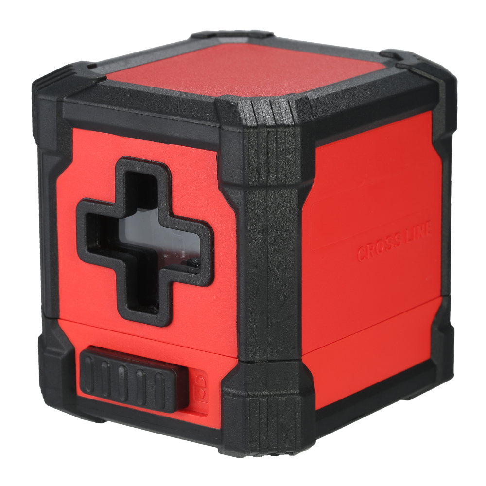Professional Mini 2 Lines Laser Level Horizontal and Vertical Cross Line Leveling Laser Level Kit with Red Light Source