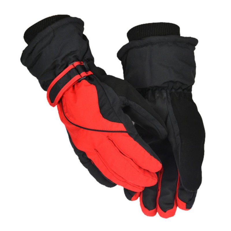 Mens Full Finger Gloves Anti-cold Ski Gloves Winter Warm Outdoor Sports Windproof Skiing Snowboard Accessories