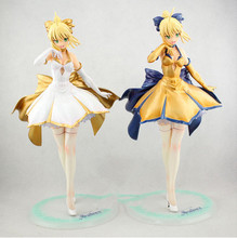 NEW hot 27cm Fate stay night Saber Lily The Holy Grail War Fate/zero Saber action figure toys Christmas gift doll collectors