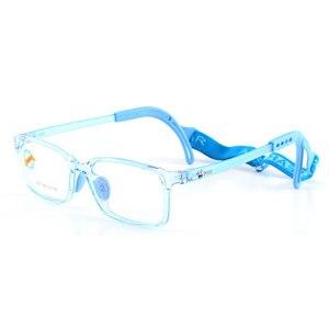 Image 3 - 8537 çocuk gözlük çerçevesi erkek ve kız çocuklar için gözlük çerçeve esnek kaliteli gözlük koruma ve görüş düzeltme