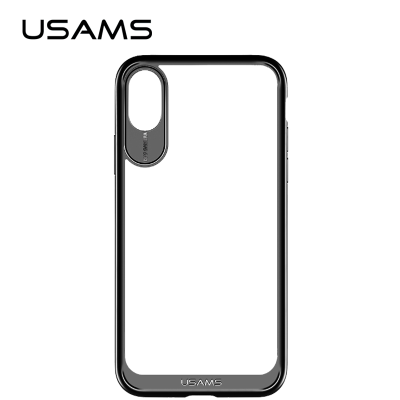 USAMS case for iPhone X TPU Transparent for Apple X Back Cover for iPhoneX case shell