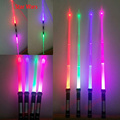 2PCS/Lot Star Wars retractable lightsaber Rebels Jedi Knight skywalker lightsaber Toy PVC Cosplay LED laser sword for boys gift