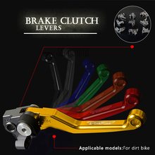цена на Motorcycle CNC Pivot Brake Clutch Lever For YAMAHA TRICKER 2004 2005 2006 2007 2008 2009 2010 2011 2012 2013 2014 2015 Handle
