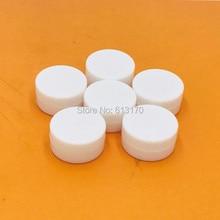 Купить с кэшбэком Free shipping wholesale 10g/ml 1/3oz empty cream jar cosmetic skin care packing jars medicine container