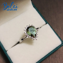 Bolai color change diaspore ring solid 925 sterling silver gemstone zultanit fine jewelry rings for women wedding 2019 new bolai 100% natural tourmaline ring 925 sterling silver fancy color five stone gemstone fine jewelry for women wedding rings 2019