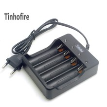 Tinhofire 4 Slots Intelligent Battery Charger with short cir