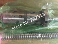 1pc ball screw RM2505 600mm+1pc DFU2505 double ball nut no end machined