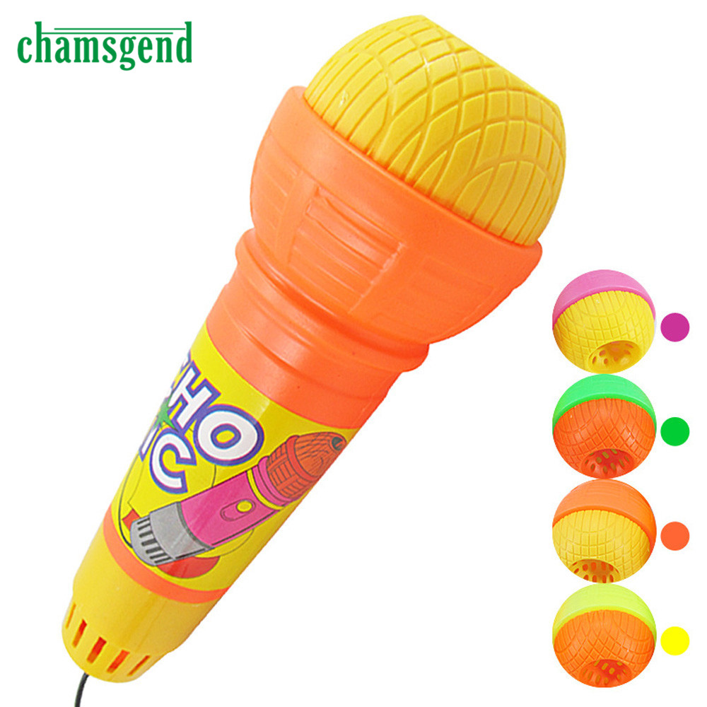 2016 New Echo Microphone Mic Voice Changer Toy Gift Birthday Present Kids Party Song Aug12