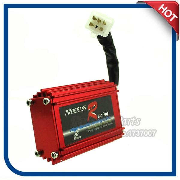 xlsion Red Racing AC CDI uždegimo dėžutė DIO 50 Elite motoroleris Motociklų motociklas