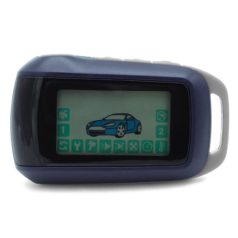 A92 For Russian Version Keychain 2-way Car Alarm System Twage Starline A92 LCD Remote Control Key Fob ChainA92 For Russian Version Keychain 2-way Car Alarm System Twage Starline A92 LCD Remote Control Key Fob Chain