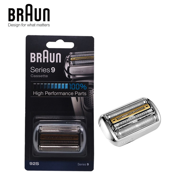 Braun 92 s 전기 면도기 면도날 시리즈 9 호일 및 커터 교체 헤드 카세트 9030 s 9040 s 9050cc 9090cc 9095cc