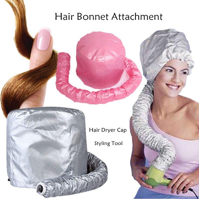 New Hair Dryer Soft Hood Hair Bonnet Attachment Haircare Hair Cap Salon Hairdressing Hair Steamer Home Barber Beauty SPA Heated