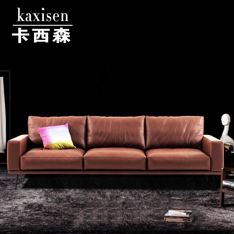 Ka Xisen designer sofa modern minimalist Scandinavian model ...