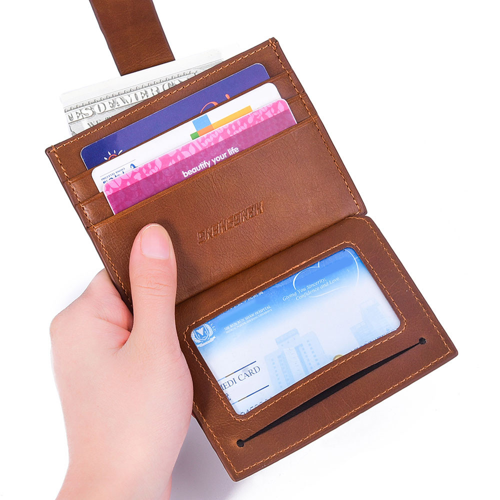 Men's Women's Purses Leather Small ID Credit Card Wallet Holder Slim Pocket Case Unisex Business Card Holders billetera A0 2018 pu leather unisex business card holder wallet bank credit card case id holders women cardholder porte carte card case