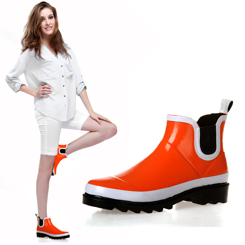 Popular Orange Rain Boots-Buy Cheap Orange Rain Boots lots from ...