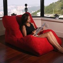 LEVMOON Beanbag Chat Bean bag 소파의 의자는 Beanbag 침대를 채우지 않고 거실 가구를 설정합니다. lazy seat zac