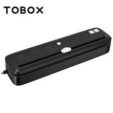 TOBOX Vacuum Sealer Household Electric Vacuum Sealing Packer Machine With Food Bags Vacuum Sealer Food Saver 110V US Plug