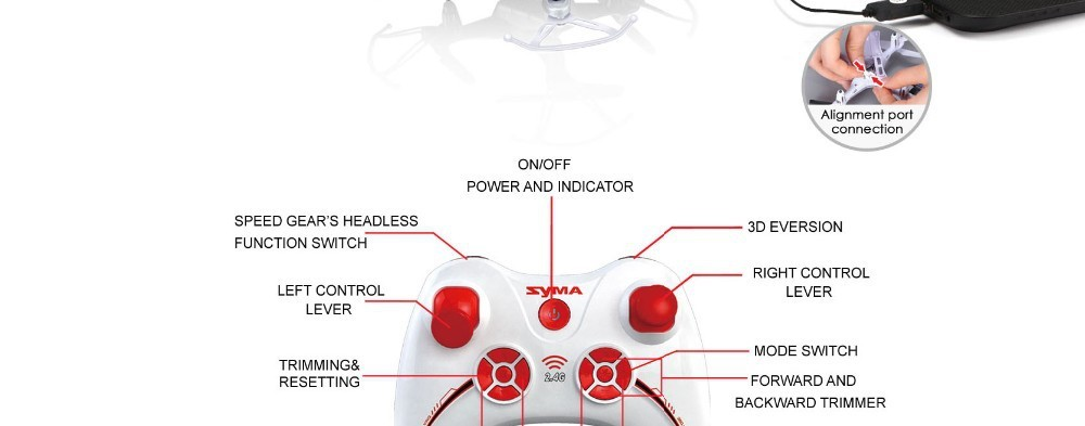 11 2015 New Arrival Syma X13 RC Mini Drone Helicopter  2.4G 4CH 6-Axis Quadcopter With 3D Flips Remote Control Toy