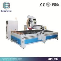 Wood acrylic cutting ATC CE standard China wood cnc milling machine
