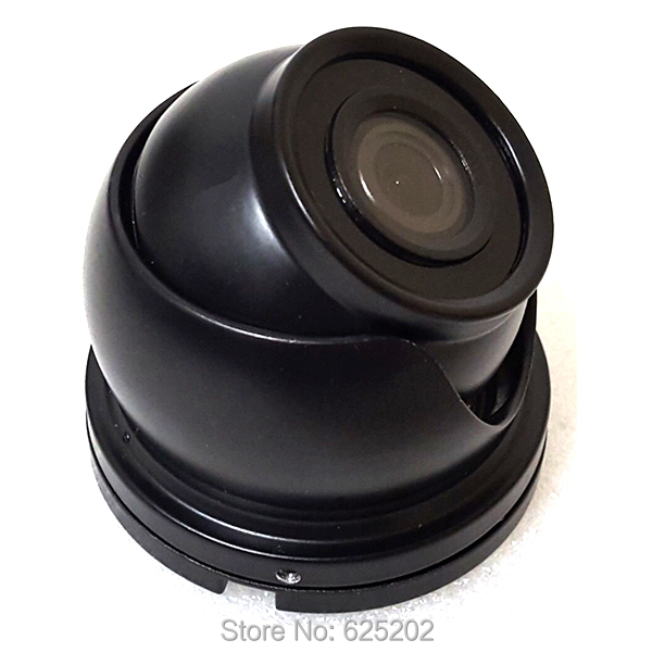 HD AHD 960P Mini Security CCTV Camera for Taxi and Car No Reflection Black Color Aviation Head
