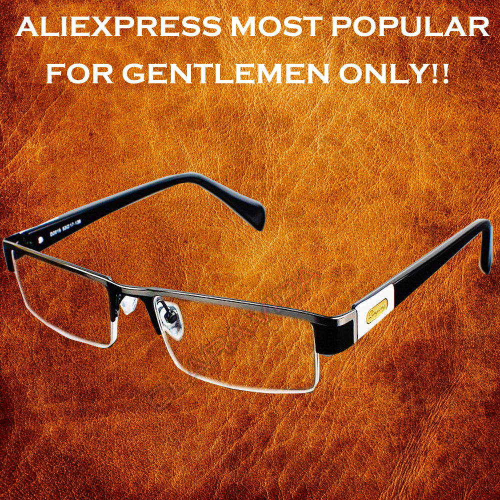 Luxury glasses titanium alloy conference kit senator's non spherical reading glasses 1.0...