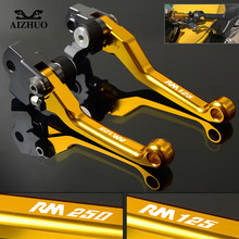For SUZUKI RM125 RM250 RM 125 250 1996 1997 1998 1999 2000 2001 2002 2003 Motocross Dirt Bike Pivot Brake Clutch Levers