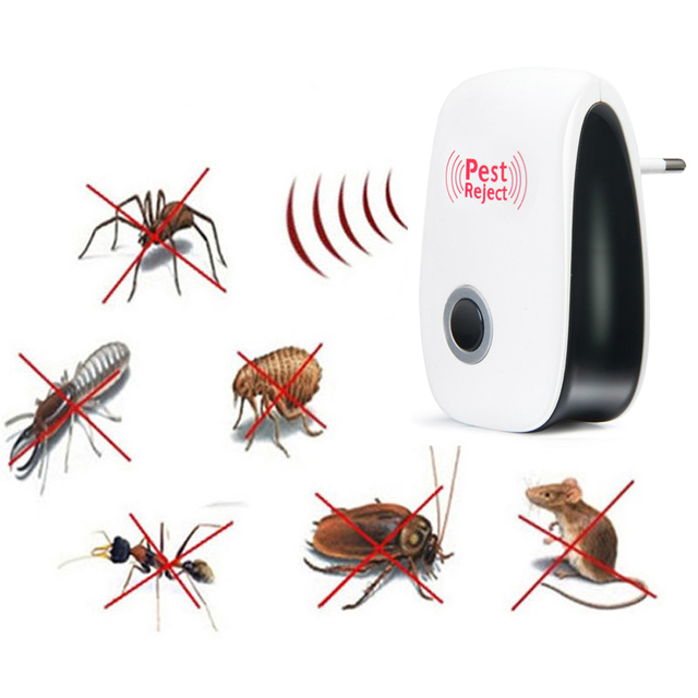 Electronic Ultrasonic Pest Repeller / Mosquito Rejector / Mouse Rat Repellent / Anti Mosquito Repeller