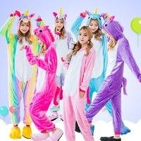 One piece Halloween Unisex Jednorożec Flanelowe Piżamy Ustawia Zwierząt Kostium Anime Cosplay Piżamy Costume Party Dla Kobiet Dorosłych