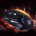 Estone X7 7 Tecla profesional Wired Gaming Mouse Óptico 7 Botón 5500 DPI Gamer Ratones Ratón Óptico LED USB Cable Del Ratón