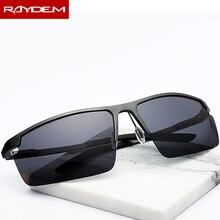 2018 Sport style Polarized Sunglasses Men Male Aluminum magnesium Semi
