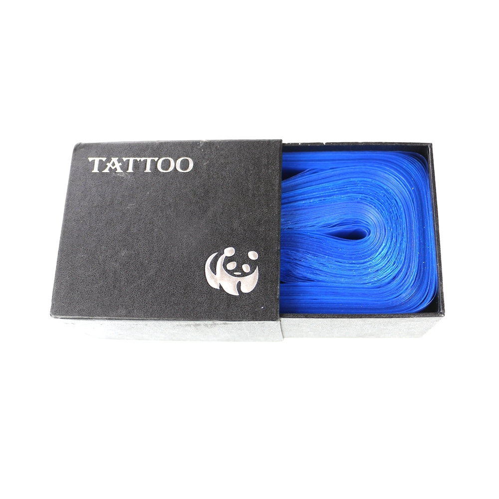 100pcs professional blue safety disposable for Tattoo cover sleeve target