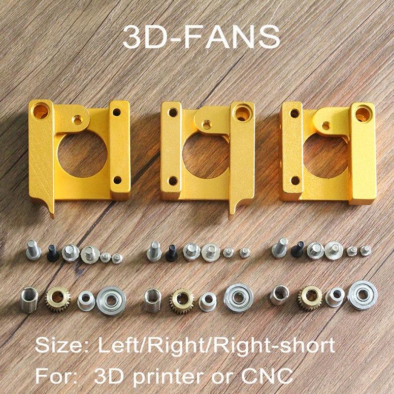 1Set 3D Printer makerbot MK8 Extruder Aluminum extrusion Frame Block DIY Kit for Reprap i3
