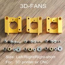 1 компл. 3D Makerbot принтера MK8 экструдер алюминиевая рамка экструзии блок DIY Kit для RepRap i3