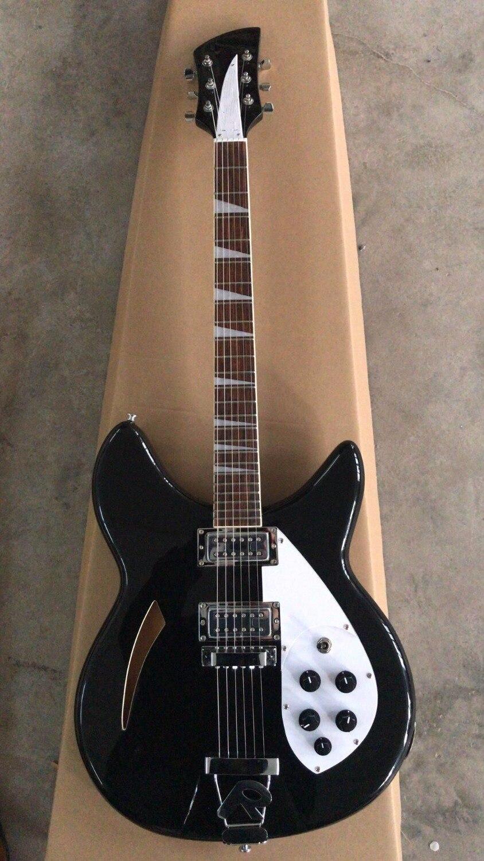 En gros Nouvelle Arrivée Rickenback... 330 Modèle Guitare Électrique 325 360 381 Modèle 6 Cordes En Noir 171110