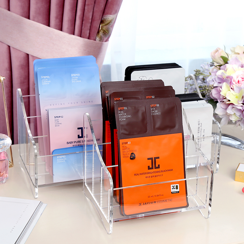 AF Simple Creative Desktop Multifunctional Tissue Box Living Room Office Sundries Storage Box Remote Control Box C219-2