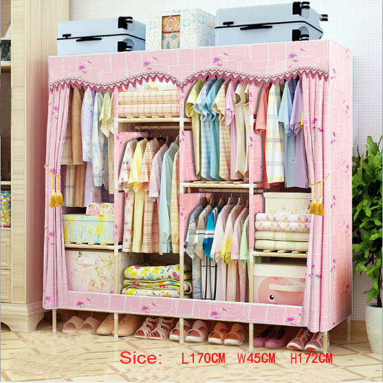 Factory Price Solid Wood Wardrobe  length 170 cm Factory Price Solid Wood Wardrobe  length 170 cm