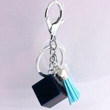 Liga de Zinco de Cristal de vidro Moda Coreana Fivela Acessórios Do Carro chaveiro em lote conjunto da cadeia de moda chave da cadeia de telefone Móvel 16