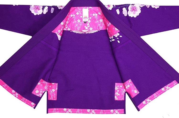 Одежда высшего качества Для женщин бразильский Восход вишни джиу джитсу Gi bjj gi классический дзюдо одежда черный белый фиолетовый кунг фу форма