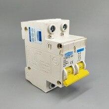 2P DC 600V Автоматический выключатель MCB C кривой однополюсный предохранитель постоянного тока для PV