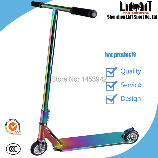 2014 new Freestyle pro scooters SCS rainbow stunt scooters ...