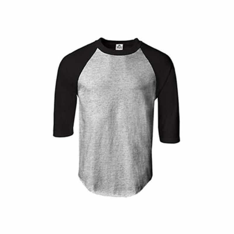126d2683 ... New Raglan 3/4 Sleeve Baseball Mens Plain Tee Jersey Team T-Shirt S ...
