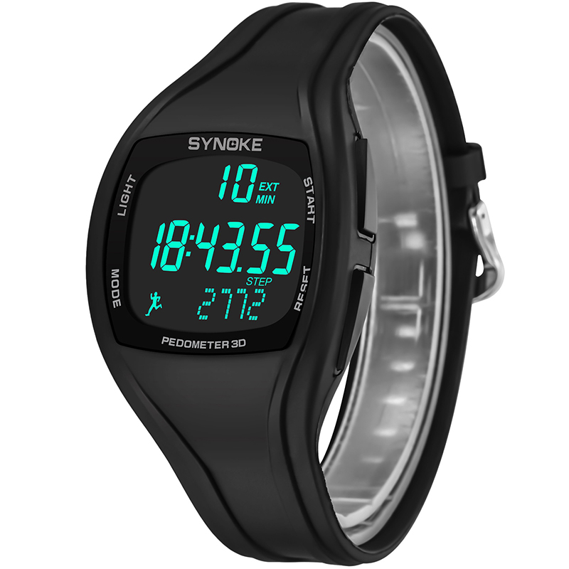 Male Digital Watches Outdoor Sports Students Watch Waterproof Electronic Watches Clock LL@17