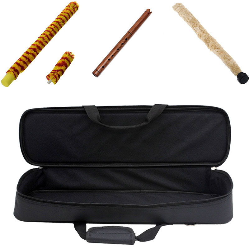 Multi Pocket 2 Colors Woodwind Musical Flute Attachments Protec Flute Cover Protec Flute Case Durable Musical Instruments