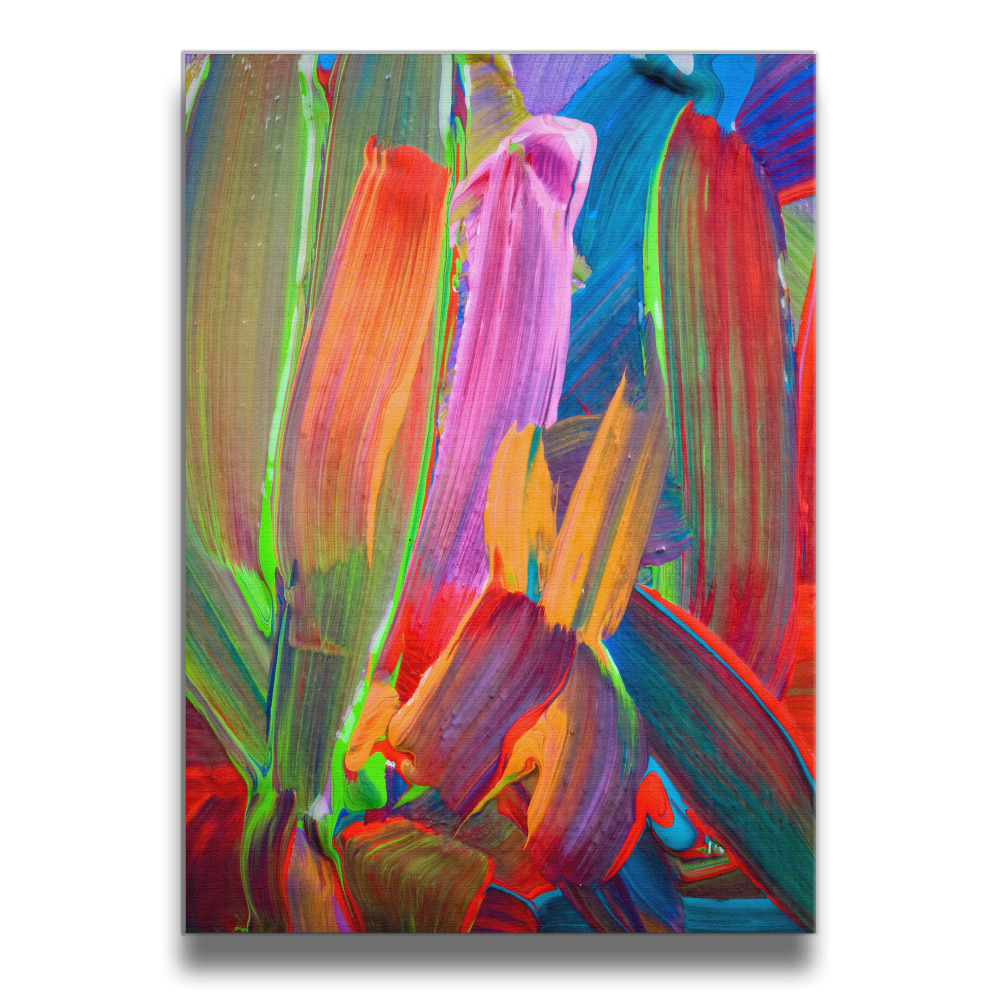 Bunte farbe Rahmenlose Kunst Bild Wand Rahmen Holz Drucke 16*20 Zoll ...