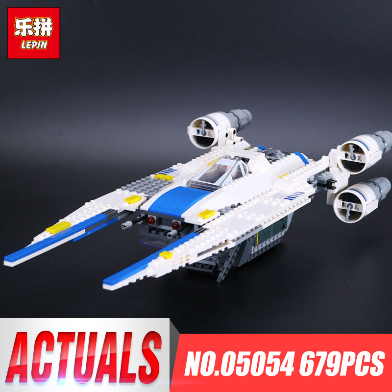 LEPIN 05054 Fighter Set Building Blocks 679pcs Rogue One: A Star Story Wars The U Gift Wing Bricks Toys for Children 75155