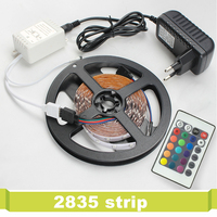 Waterproof SMD2835 Flexible Led Strip Light TV Background Lighting 5M 300 Leds RGB Set With Remote